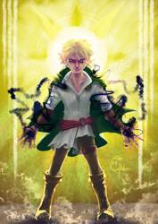 COMMISSION - Elven Paladin