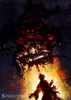 Knightober 3 - Dark-on-Light