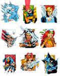 X-Men sketch cards 2