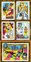 Sketch card batch 3-7 by Sonion