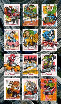Spidey cards 1