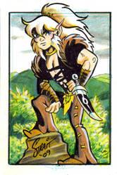 Elfquest card on Ebay by Sonion