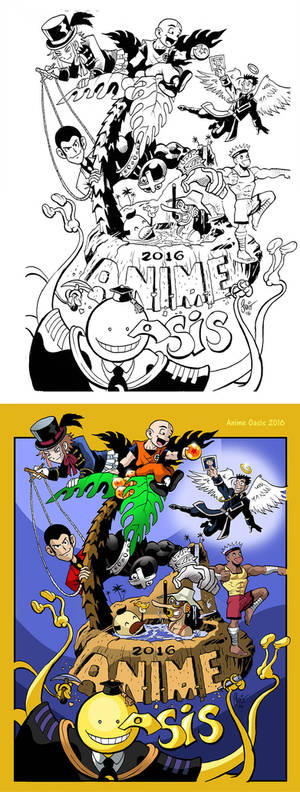 Anime Oasis Process