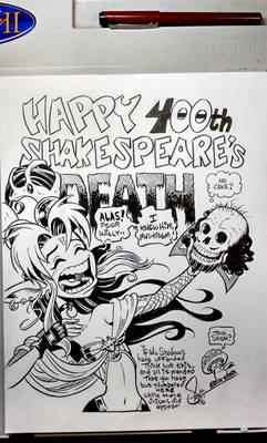 Happy 400th, Shakespeare's Death!