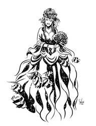 Wendy Pini Queen of Atlantis