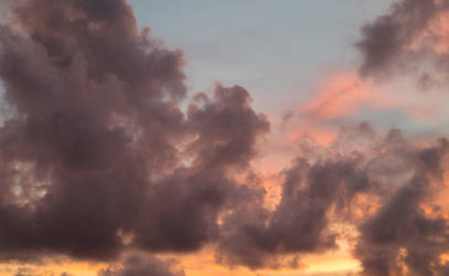 Clouds at Sunset by Ste2004