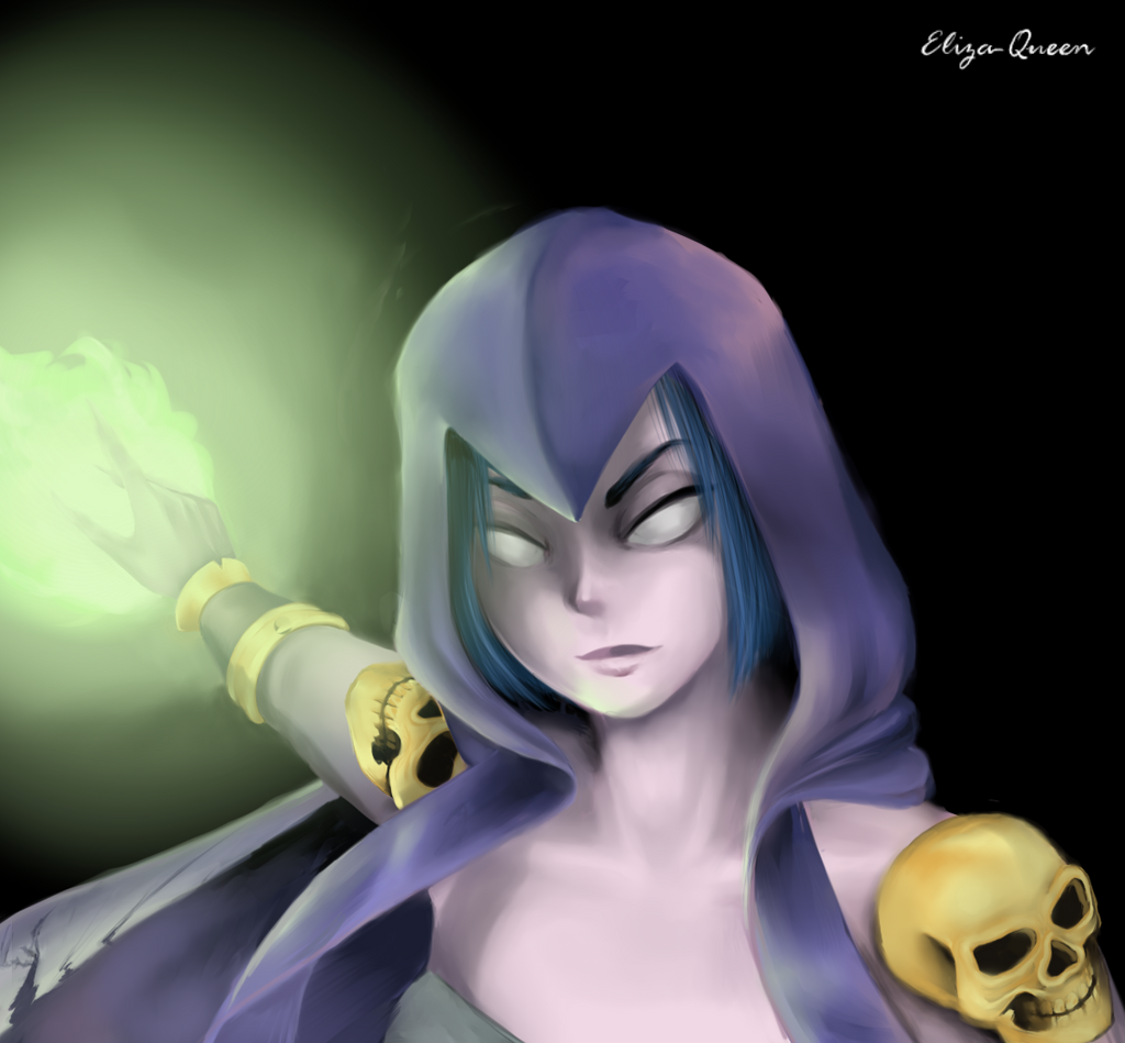 Witch-Clash of Clans by Eliza-Queen on DeviantArt