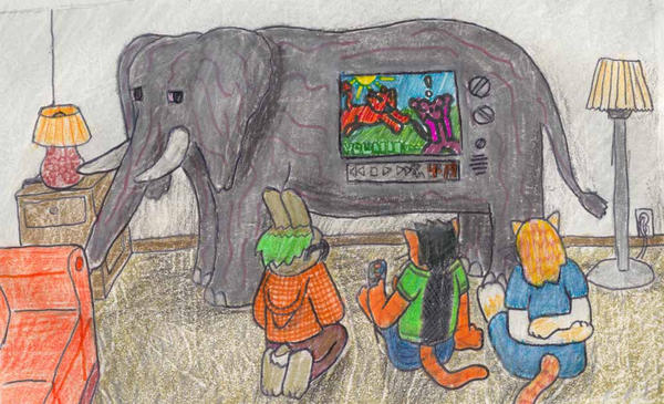 Elephant in the living room by tyson stripe on deviantart for The elephant in the living room watch online