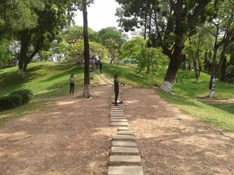 The lone flutist 2 by TheSoldierInVietnam