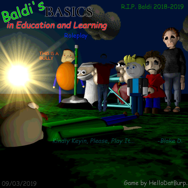 The End Of Baldi S Basics 3d Morphs Rp By Hdb By Maxmaaxim On