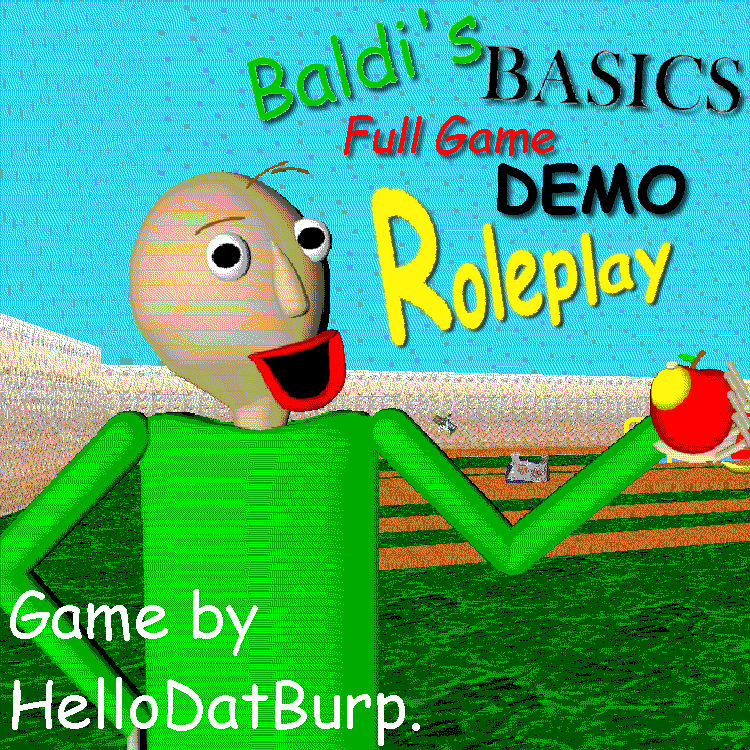 Baldi Basics Roblox Games