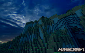 Mountain Ranges of Minecraft - 3300 Views! by AussieMine