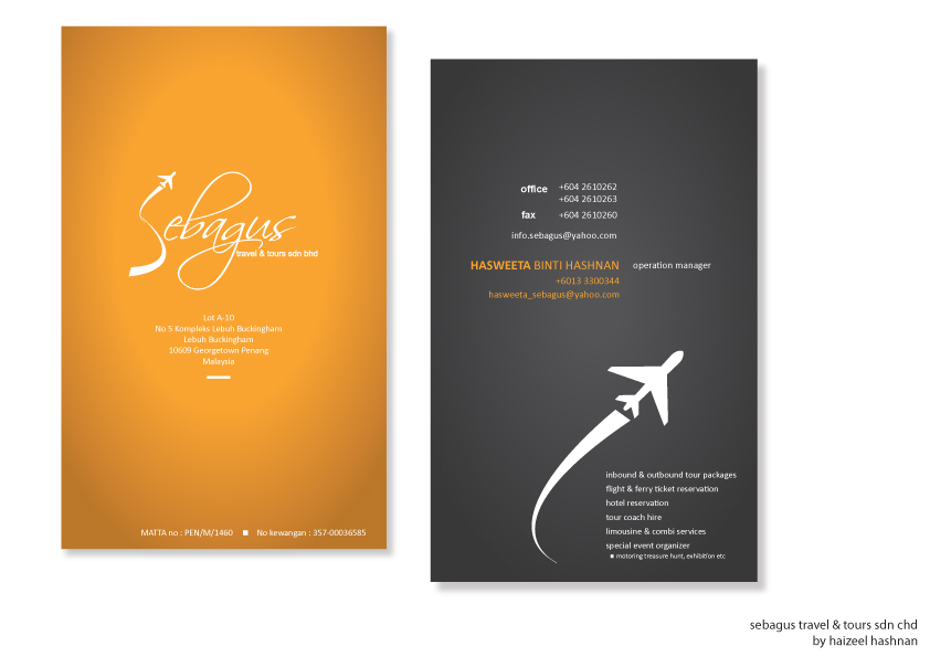 Sebagus travel business card by haizeel on deviantart sebagus travel business card by haizeel colourmoves