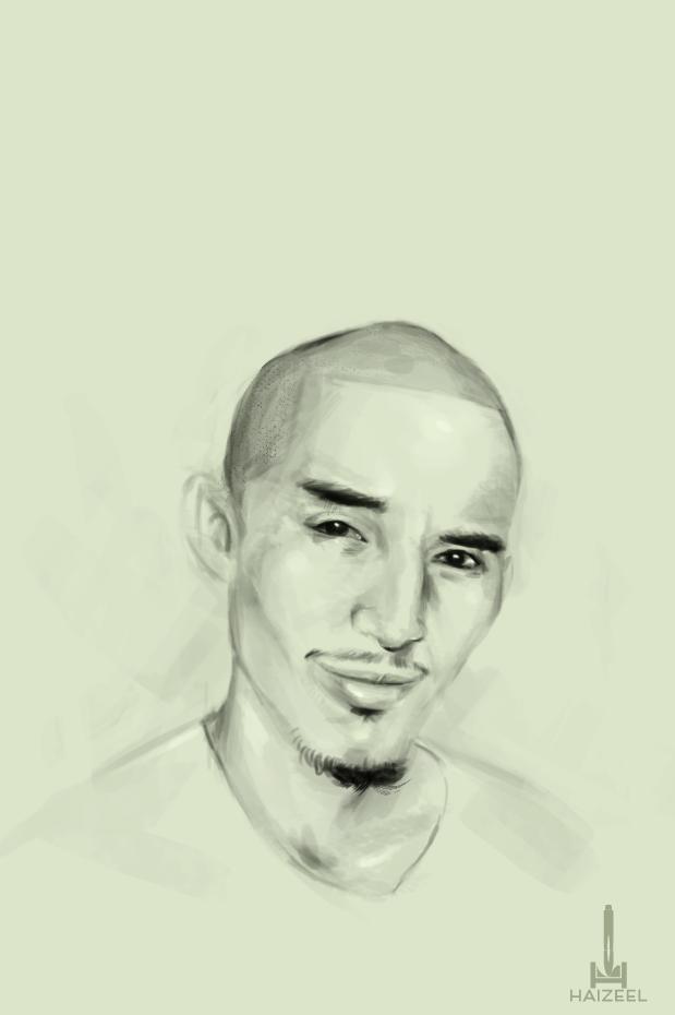 Self Portrait by Haizeel