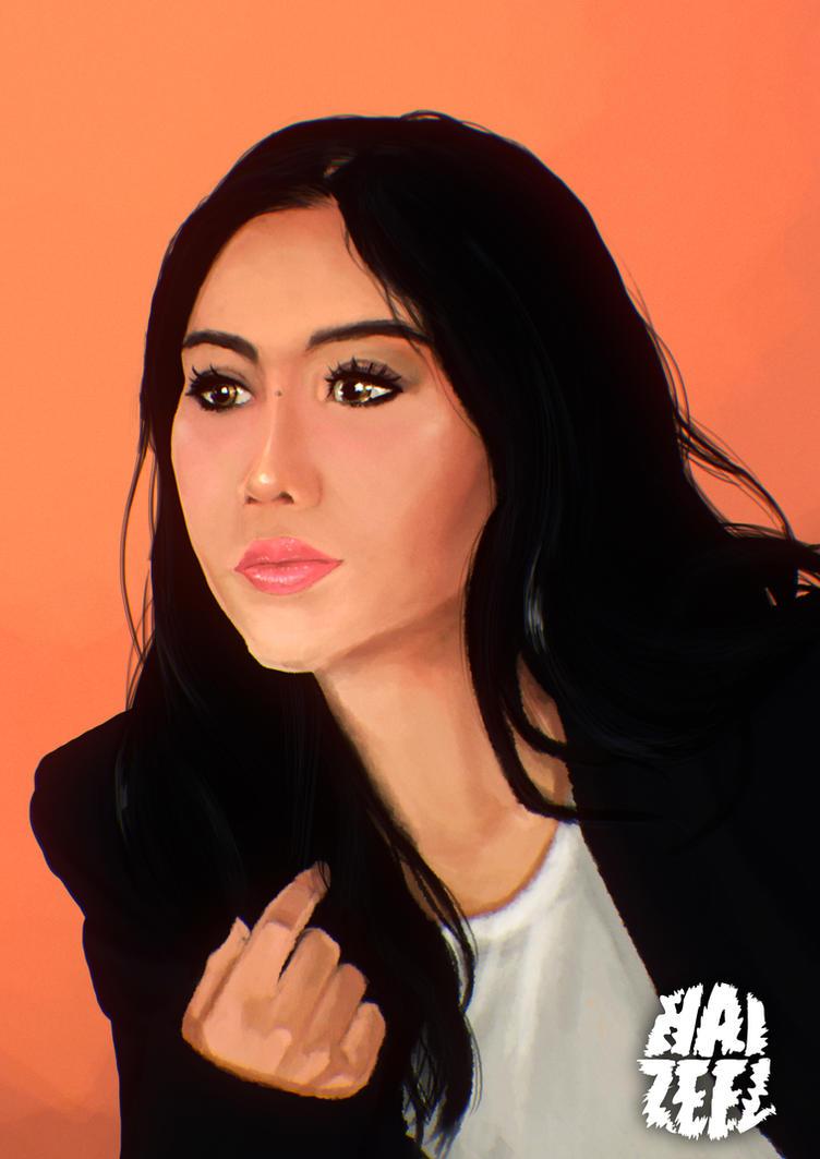 Ella Aminuddin by Haizeel