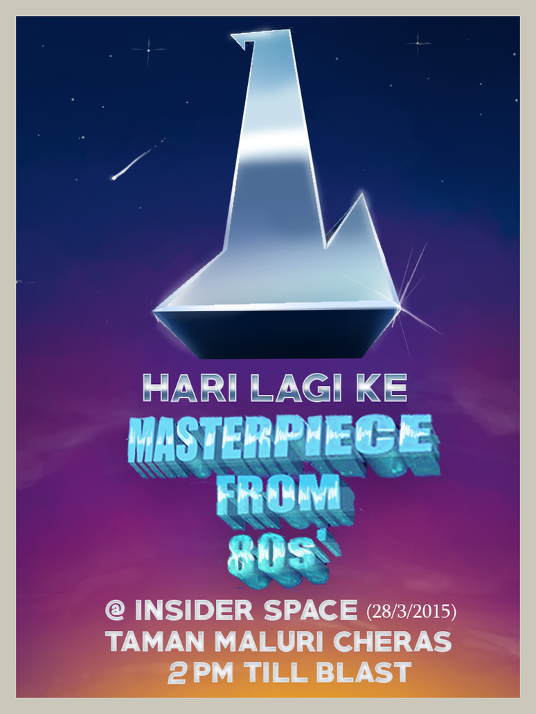 Gig Poster 01 by Haizeel