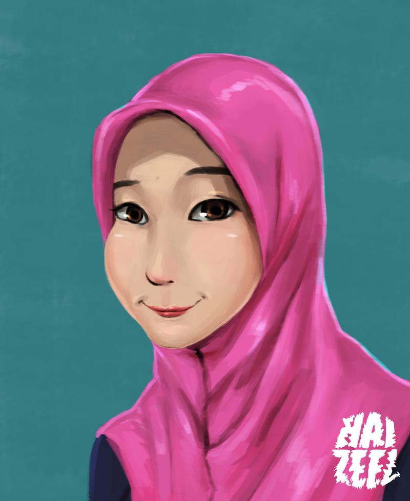 farah by Haizeel
