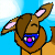 eevee icon for Autumntail by pallaza