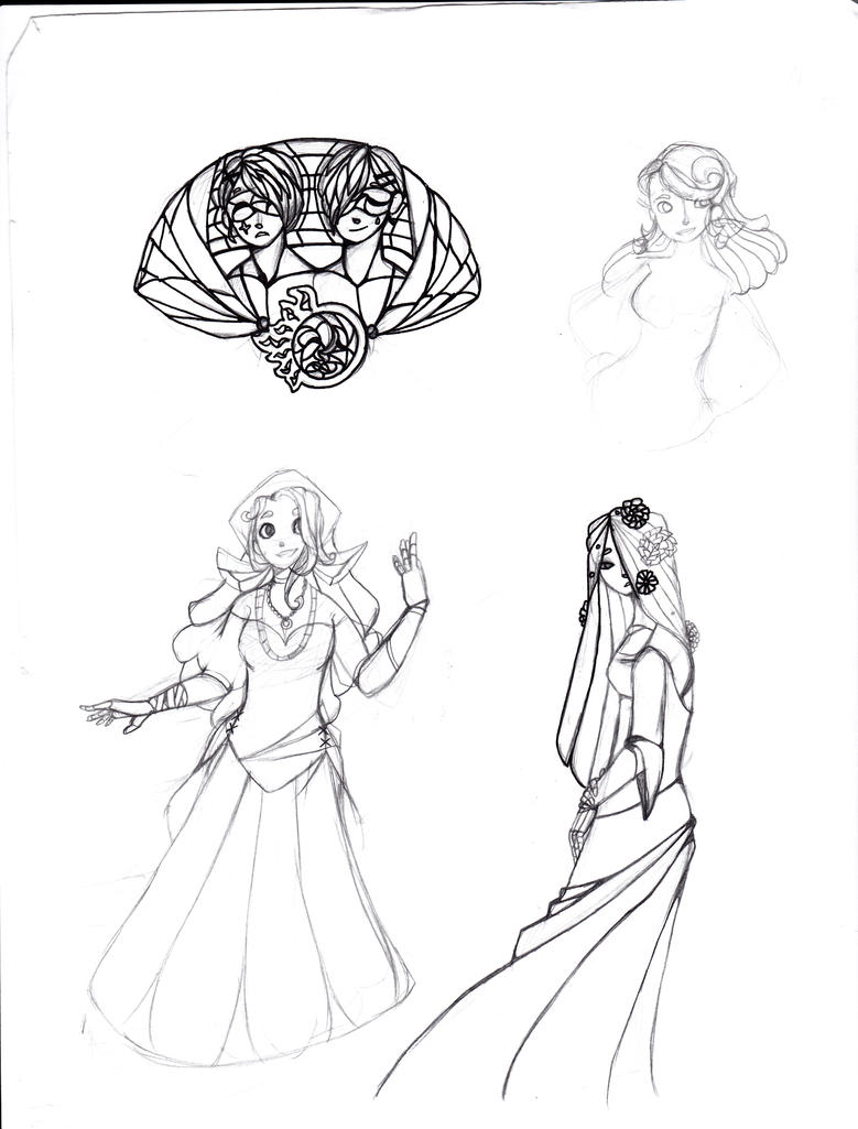 Circus Thing Sketches by pallaza