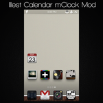 Illest Calendar mClock Mod