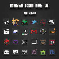 Matte Iconsv1 by kgill77