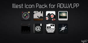 Illest Icons ADW and LPP Theme by kgill77