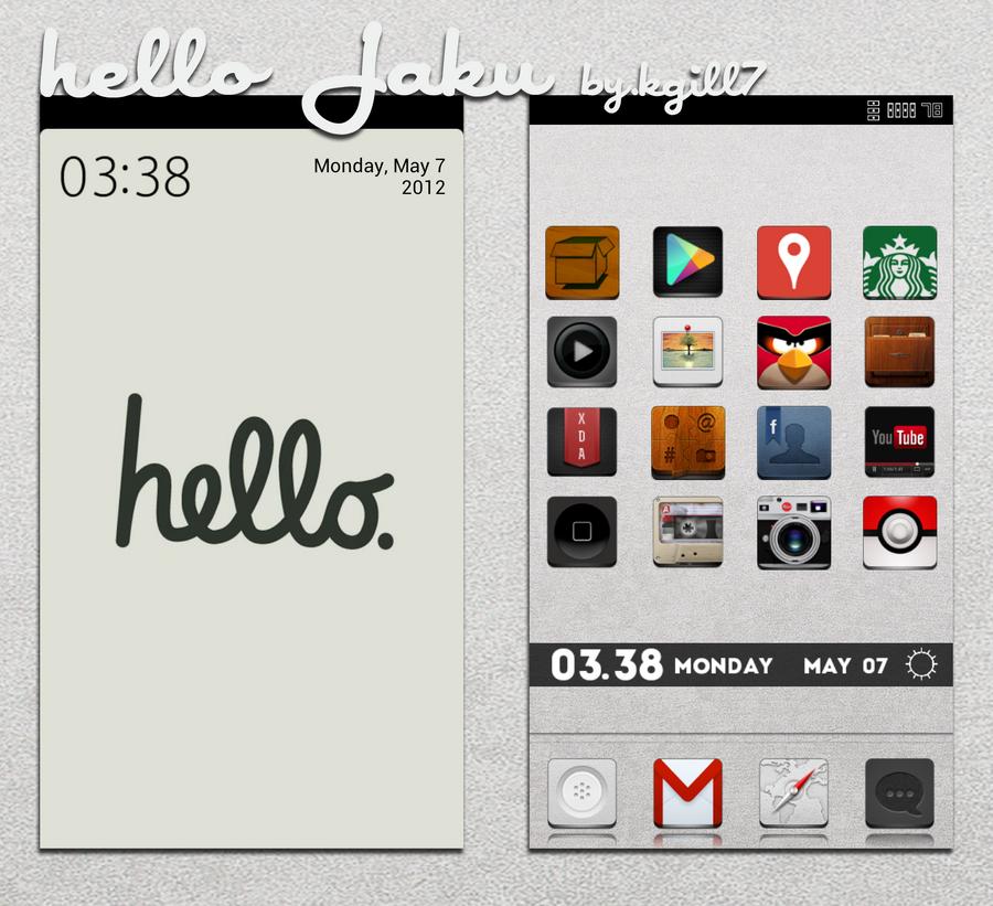 Hello Jaku by kgill77