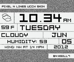 Pixel N Lines UCCW Skin by kgill77