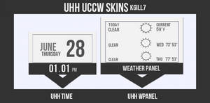 UHH UCCW SKINS by kgill77