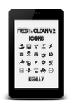 FreshNClean V2 Icons.