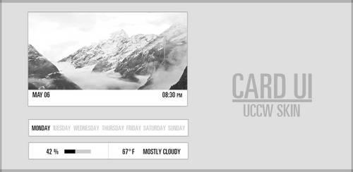 Card UI UCCW Skin. by kgill77