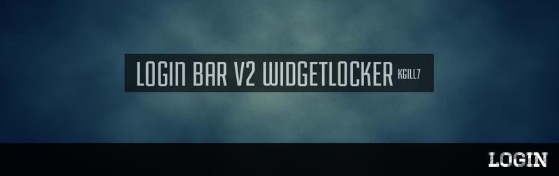 LOGIN BAR V2.