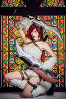 league of legend / Katarina kitty cat by Julia-MiFei
