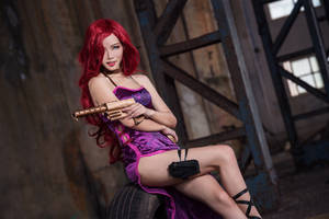 league of legend / Miss Fortune Secret Agent by Julia-MiFei