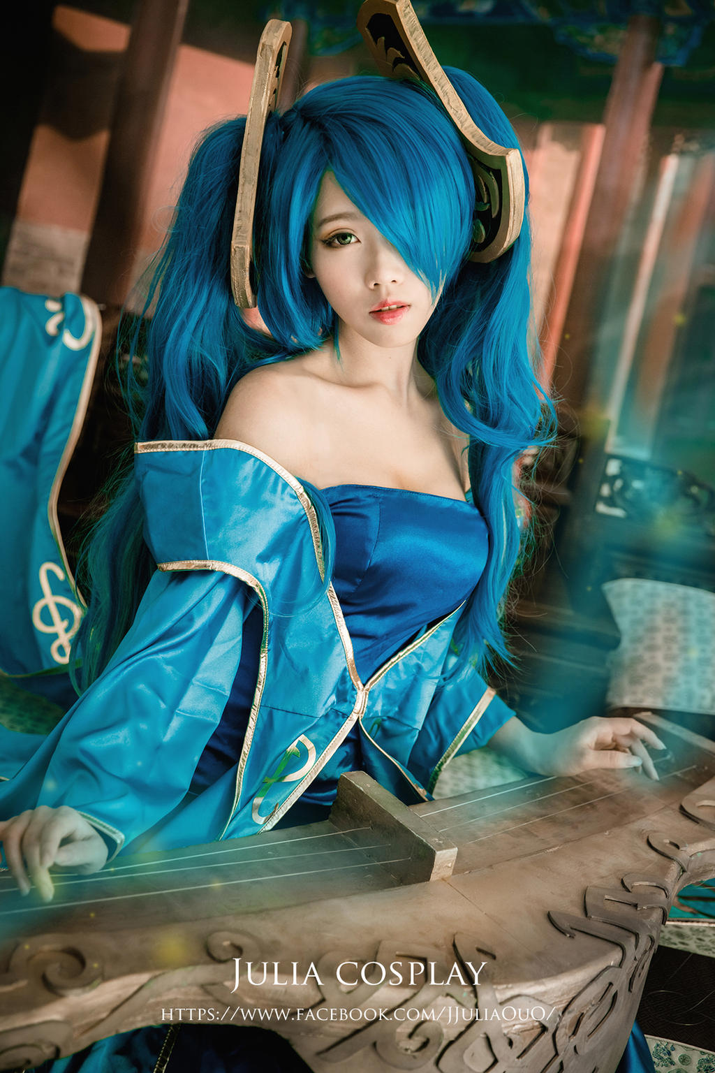 league of legend / Sona by Julia-MiFei on DeviantArt