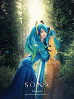 league of legend / Sona by Julia-MiFei