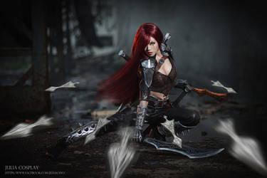 league of legend / Katarina by Julia-MiFei