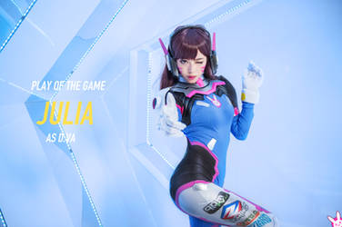 D.Va cosplay by Julia-MiFei