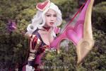 League of Legends - Ashe Heartseeker cosplay