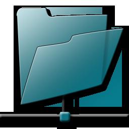 Network Folder Icon - Web0.2ama Icons - SoftIcons.com