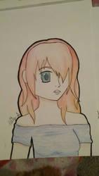 Shocked Girl  by AnimeKitty44
