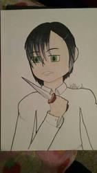 Black Haired Assassin  by AnimeKitty44