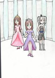 Three Queens of Kitty's World by AnimeKitty44