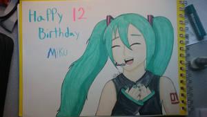 Hatsune Miku 12th birthday