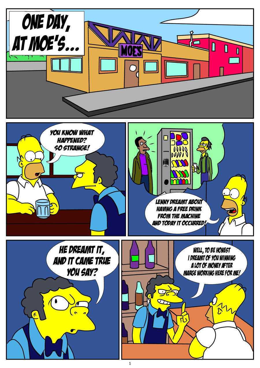 Simpson Comic Page 01 By Skywalker By Kuroishin On Deviantart-5633