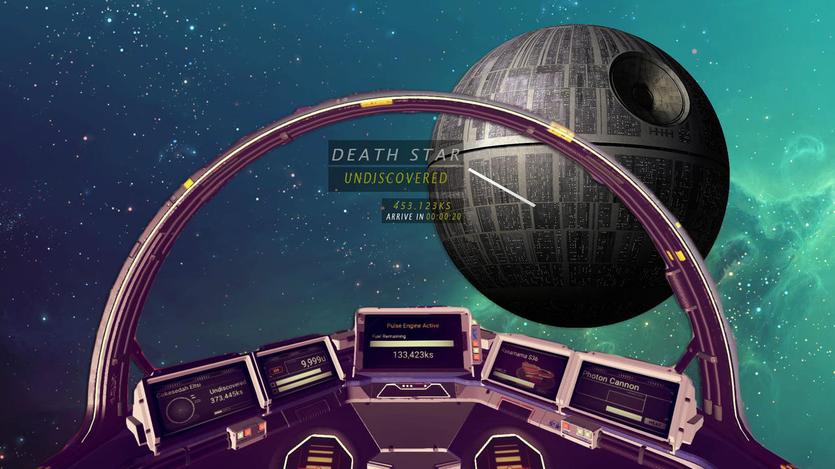 No Man's Sky : Finding the death star by nontendofied