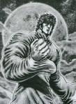 Kenshiro and the Moon