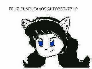 Happy Birthday Autobot-7712 by linke87