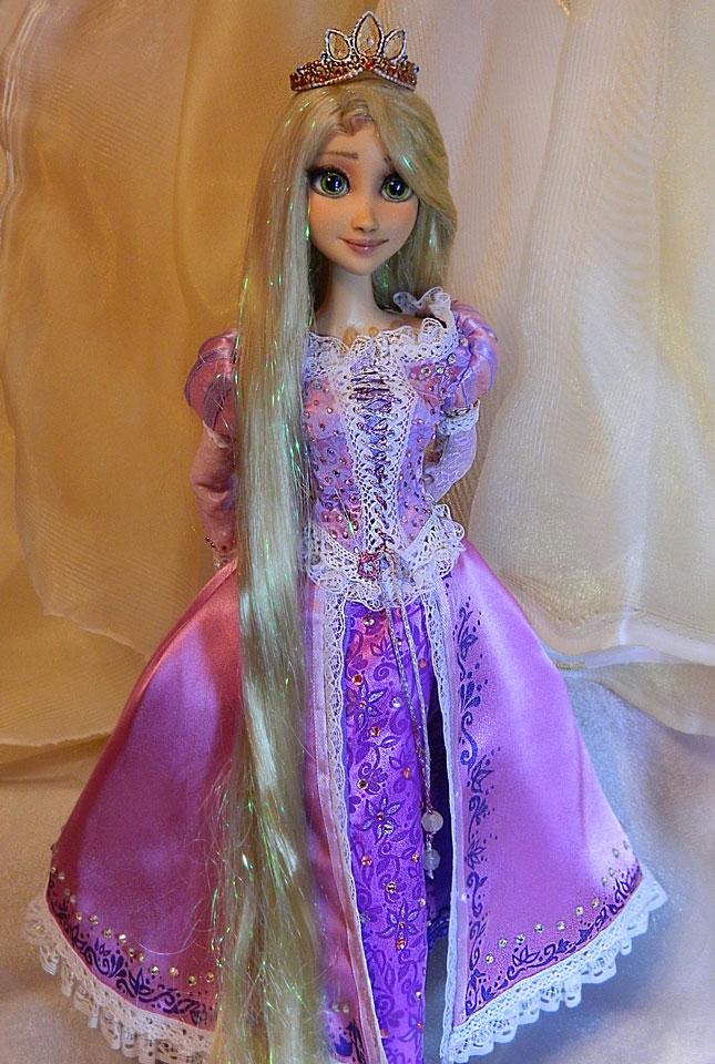 for sale now disney tangled rapunzel ooak doll by danielminaev on deviantart. Black Bedroom Furniture Sets. Home Design Ideas
