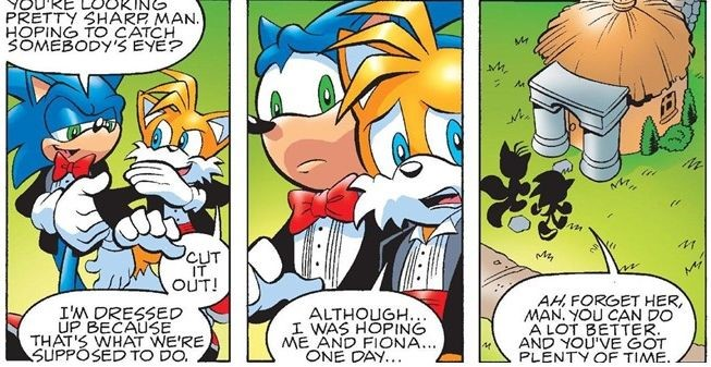 Tails-Fiona panel 6 by FoxAffliction